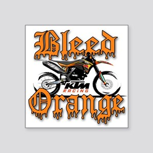 BleedOrange Sticker